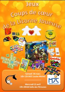 Découverte jeux de société @ MJC Louise Michel | Ambérieu-en-Bugey | Auvergne-Rhône-Alpes | France
