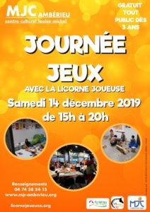 Journée jeux à la MJC @ MJC Louise Michel
